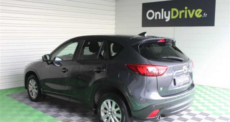 Mazda CX-5 2.2L Skyactiv-D 150 ch 4x2 Dynamique Gris occasion à SAINT FULGENT - photo n°3