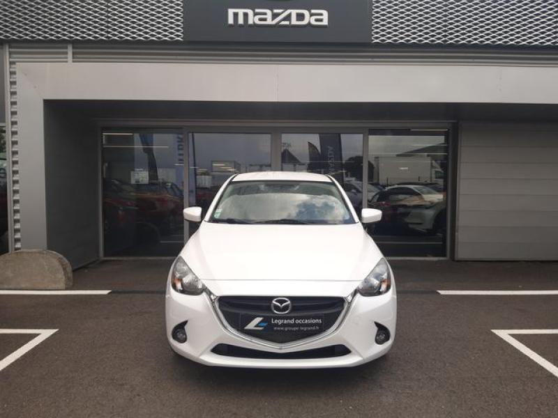 Mazda Mazda 2 1.5 SKYACTIV-G 90 Elégance Blanc occasion à Cesson-Sévigné - photo n°7