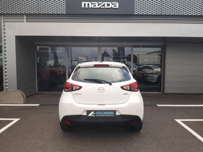 Mazda Mazda 2 1.5 SKYACTIV-G 90 Elégance Blanc occasion à Cesson-Sévigné - photo n°8