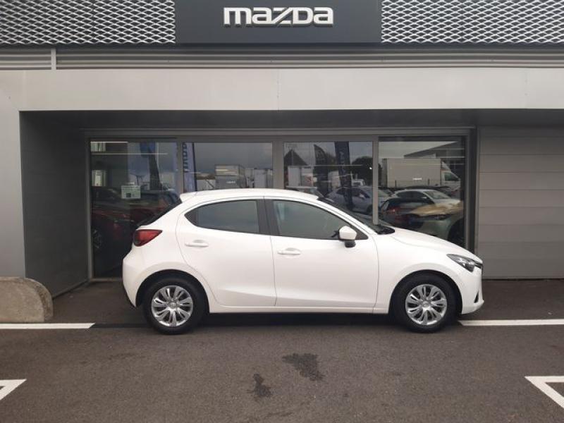 Mazda Mazda 2 1.5 SKYACTIV-G 90 Elégance Blanc occasion à Cesson-Sévigné - photo n°6