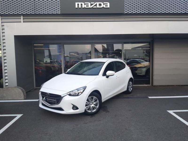 Mazda Mazda 2 1.5 SKYACTIV-G 90 Elégance Blanc occasion à Cesson-Sévigné