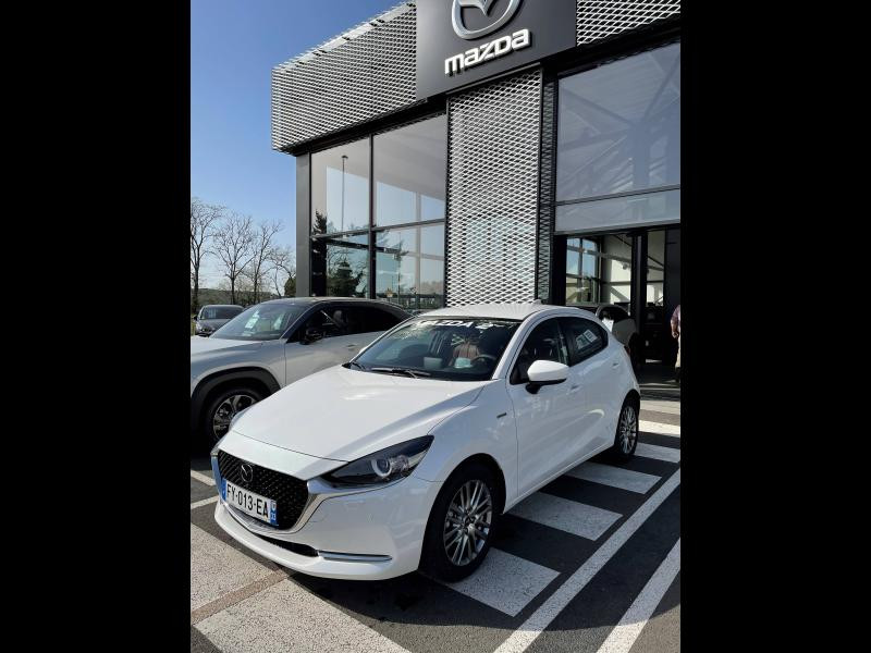 Mazda Mazda 2 1.5 SKYACTIV-G M-Hybrid 90ch 100ème Anniversaire 5cv Rouge occasion à Mérignac