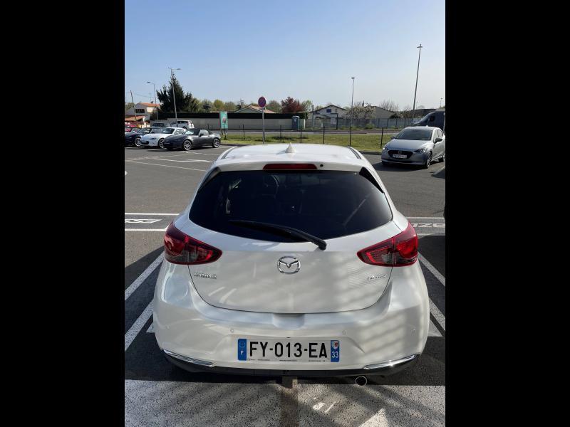 Mazda Mazda 2 1.5 SKYACTIV-G M-Hybrid 90ch 100ème Anniversaire 5cv Rouge occasion à Mérignac - photo n°3