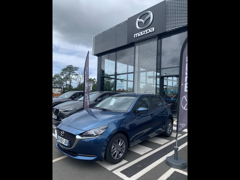 Mazda Mazda 2 1.5 SKYACTIV-G M Hybrid 90ch Elégance 5cv  occasion à Mérignac - photo n°2