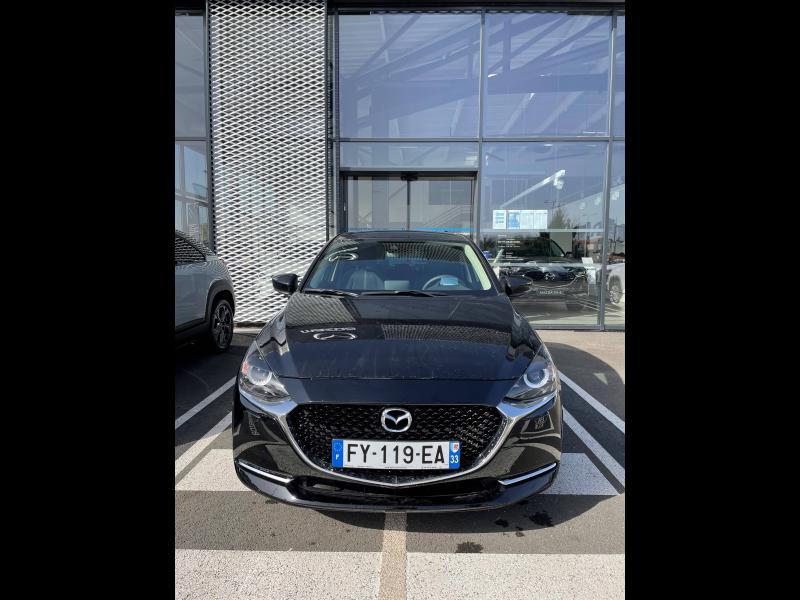 Mazda Mazda 2 1.5 SKYACTIV-G M-Hybrid 90ch Sélection 5cv Noir occasion à Mérignac - photo n°2