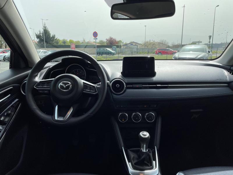 Mazda Mazda 2 1.5 SKYACTIV-G M-Hybrid 90ch Sélection 5cv Blanc occasion à Mérignac - photo n°3