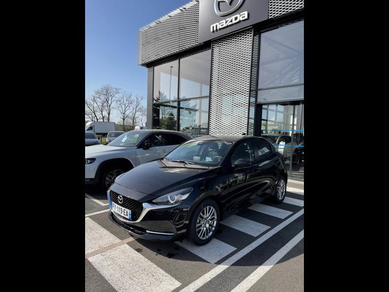 Mazda Mazda 2 1.5 SKYACTIV-G M-Hybrid 90ch Sélection 5cv Noir occasion à Mérignac