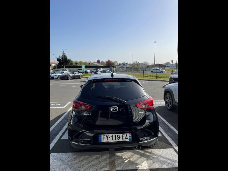 Mazda Mazda 2 1.5 SKYACTIV-G M-Hybrid 90ch Sélection 5cv Noir occasion à Mérignac - photo n°3