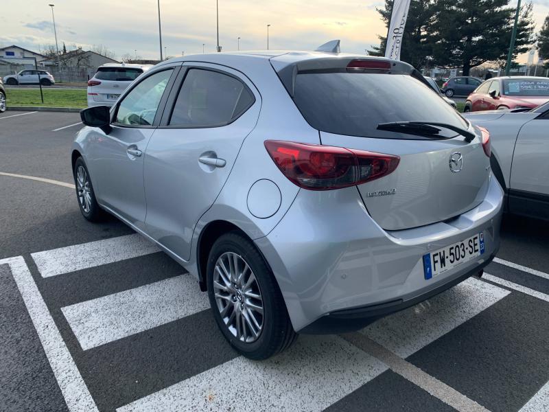 Mazda Mazda 2 1.5 SKYACTIV-G M-Hybrid 90ch Signature 5cv  occasion à Mérignac - photo n°2
