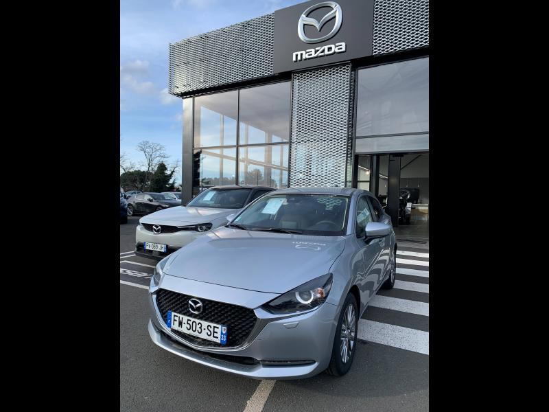 Mazda Mazda 2 1.5 SKYACTIV-G M-Hybrid 90ch Signature 5cv  occasion à Mérignac