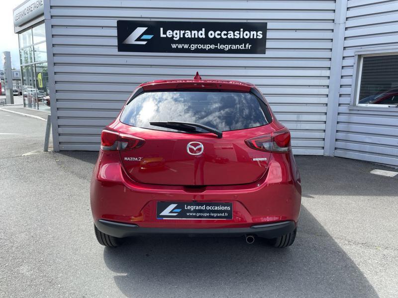 Mazda Mazda 2 1.5 SKYACTIV-G M-Hybrid 90ch Signature 5cv  occasion à Saint-Brieuc - photo n°4