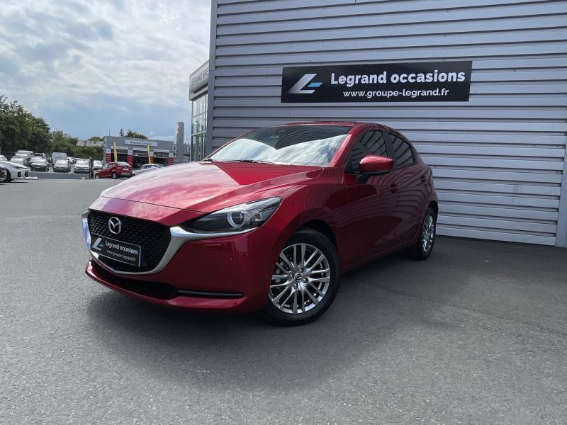 Mazda Mazda 2 1.5 SKYACTIV-G M-Hybrid 90ch Signature 5cv  occasion à Saint-Brieuc