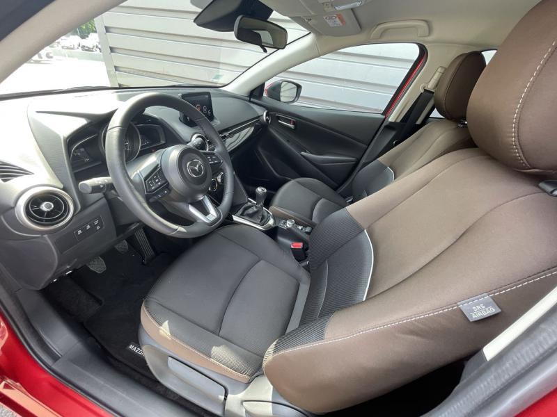 Mazda Mazda 2 1.5 SKYACTIV-G M-Hybrid 90ch Signature 5cv  occasion à Saint-Brieuc - photo n°8