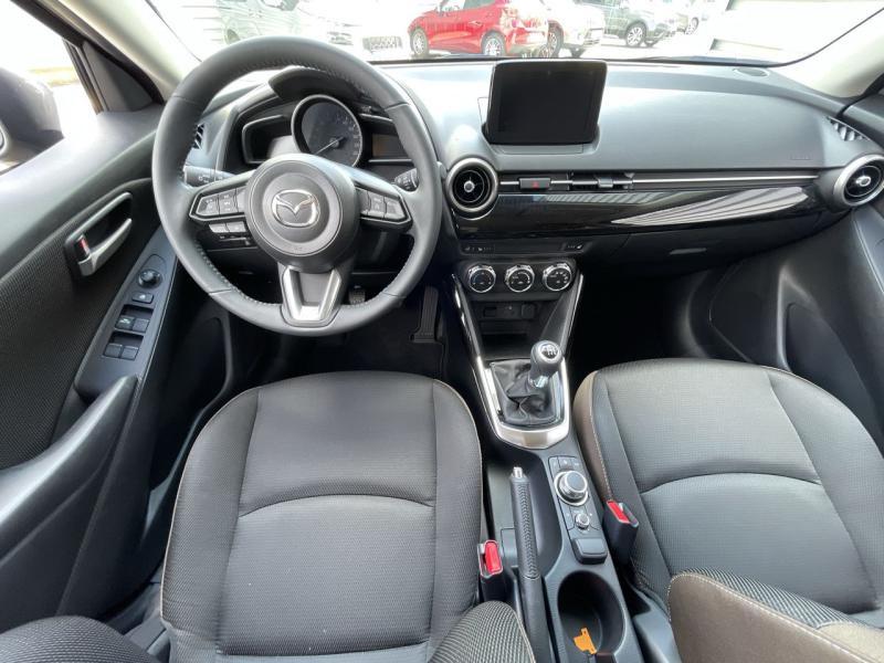 Mazda Mazda 2 1.5 SKYACTIV-G M Hybrid 90ch Signature 5cv  occasion à Saint-Brieuc - photo n°7