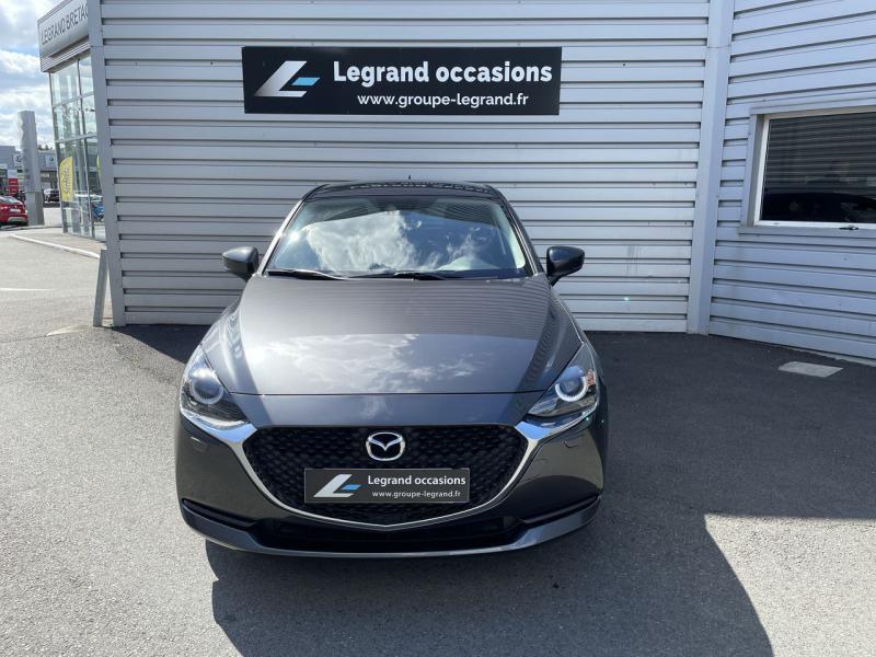 Mazda Mazda 2 1.5 SKYACTIV-G M Hybrid 90ch Signature 5cv  occasion à Saint-Brieuc - photo n°3