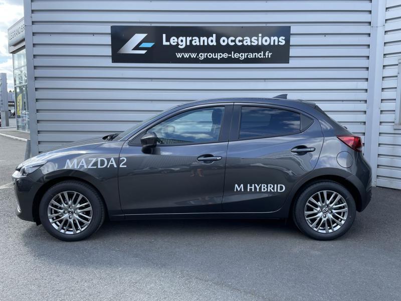 Mazda Mazda 2 1.5 SKYACTIV-G M Hybrid 90ch Signature 5cv  occasion à Saint-Brieuc - photo n°2