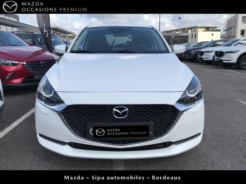 Mazda Mazda 2 1.5 SKYACTIV-G M-Hybrid 90ch Signature Blanc occasion à Mérignac - photo n°5