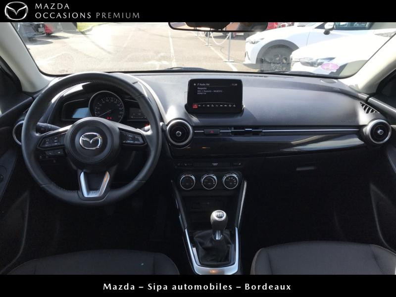Mazda Mazda 2 1.5 SKYACTIV-G M-Hybrid 90ch Signature Blanc occasion à Mérignac - photo n°2
