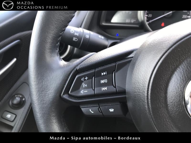 Mazda Mazda 2 1.5 SKYACTIV-G M-Hybrid 90ch Signature Blanc occasion à Mérignac - photo n°12