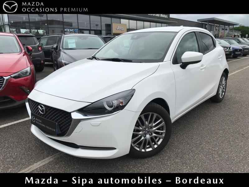 Mazda Mazda 2 1.5 SKYACTIV-G M-Hybrid 90ch Signature Blanc occasion à Mérignac