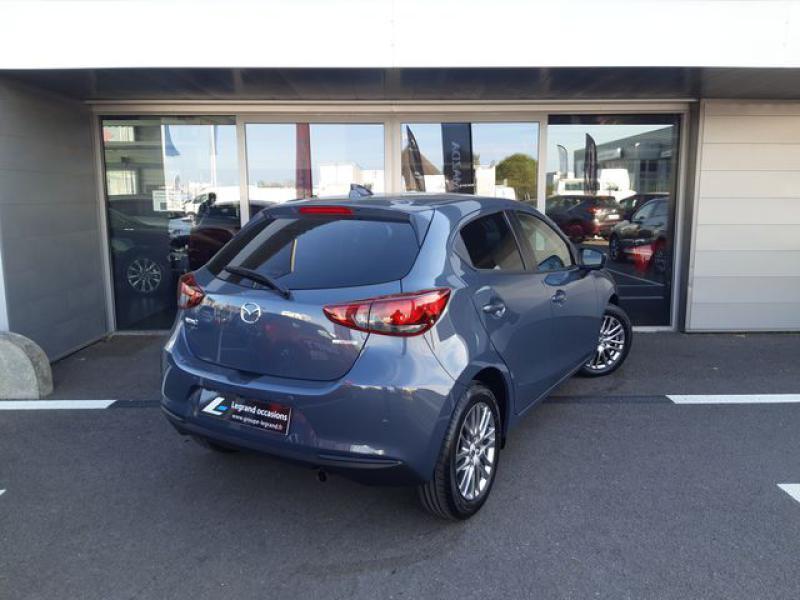 Mazda Mazda 2 1.5 SKYACTIV-G M-Hybrid 90ch Signature  occasion à Cesson-Sévigné - photo n°5
