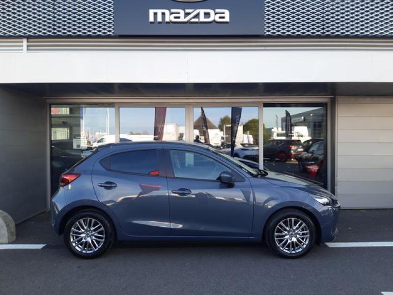 Mazda Mazda 2 1.5 SKYACTIV-G M-Hybrid 90ch Signature  occasion à Cesson-Sévigné - photo n°4