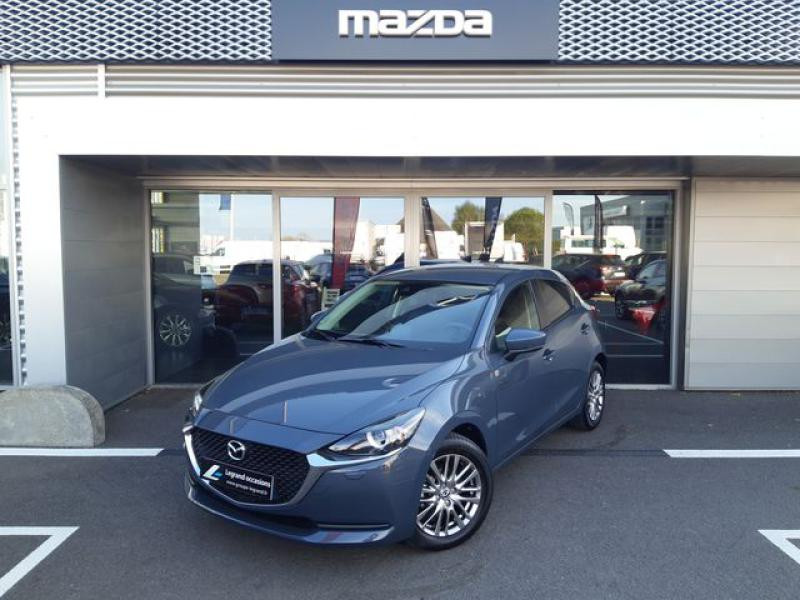 Mazda Mazda 2 1.5 SKYACTIV-G M-Hybrid 90ch Signature  occasion à Cesson-Sévigné