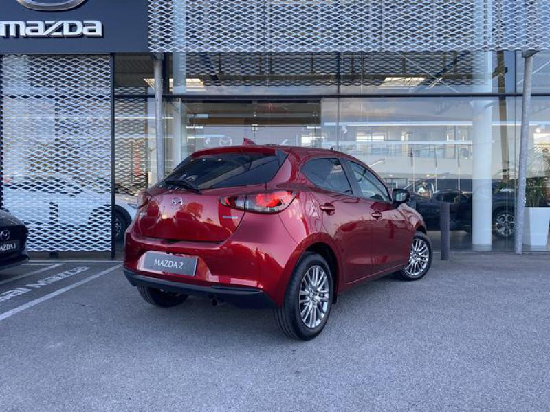 Mazda Mazda 2 1.5 SKYACTIV-G M-Hybrid 90ch Signature  occasion à Saint-Herblain - photo n°3
