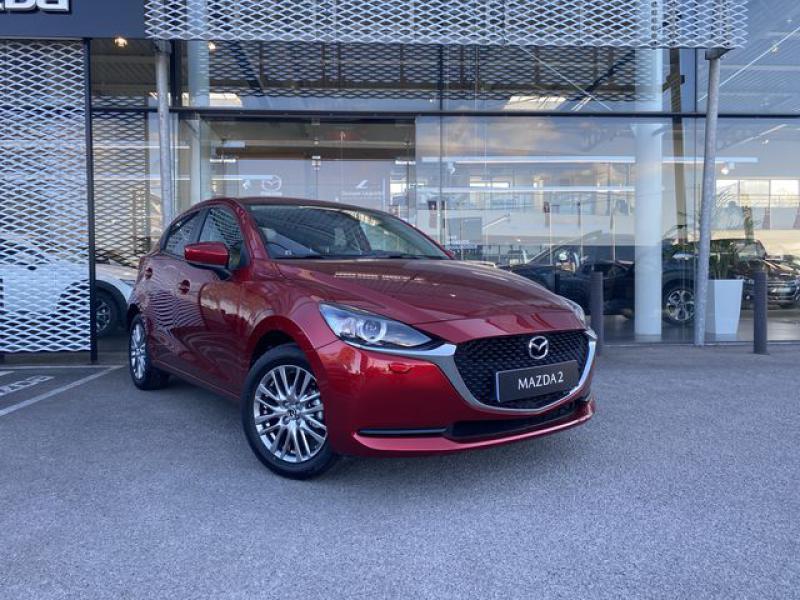 Mazda Mazda 2 1.5 SKYACTIV-G M-Hybrid 90ch Signature  occasion à Saint-Herblain