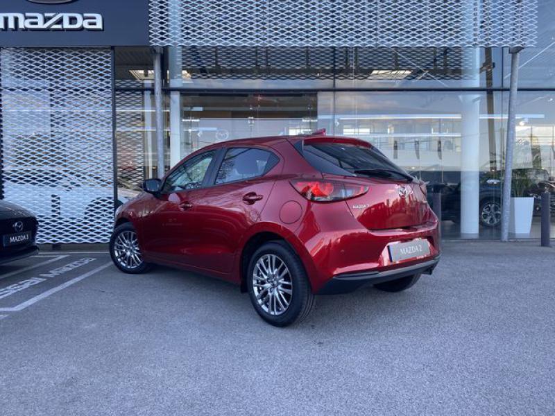 Mazda Mazda 2 1.5 SKYACTIV-G M-Hybrid 90ch Signature  occasion à Saint-Herblain - photo n°5