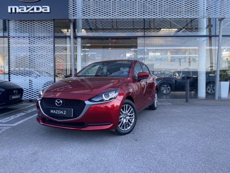 Mazda Mazda 2 1.5 SKYACTIV-G M-Hybrid 90ch Signature  occasion à Saint-Herblain - photo n°7