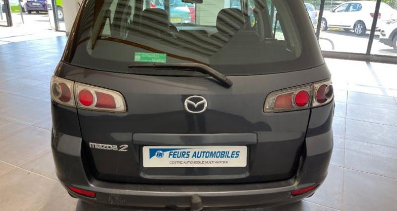 Mazda Mazda 2 MAZDA2 1.4 MZ-CD Elégance Gris occasion à CIVENS - photo n°6