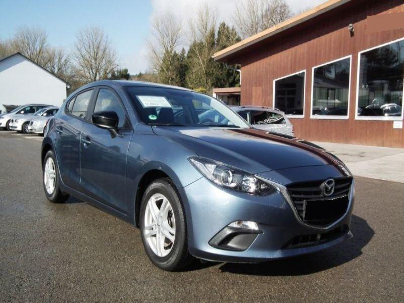 Mazda Mazda 3 1.5 Skyactiv-G 100 Bleu occasion à Beaupuy - photo n°7