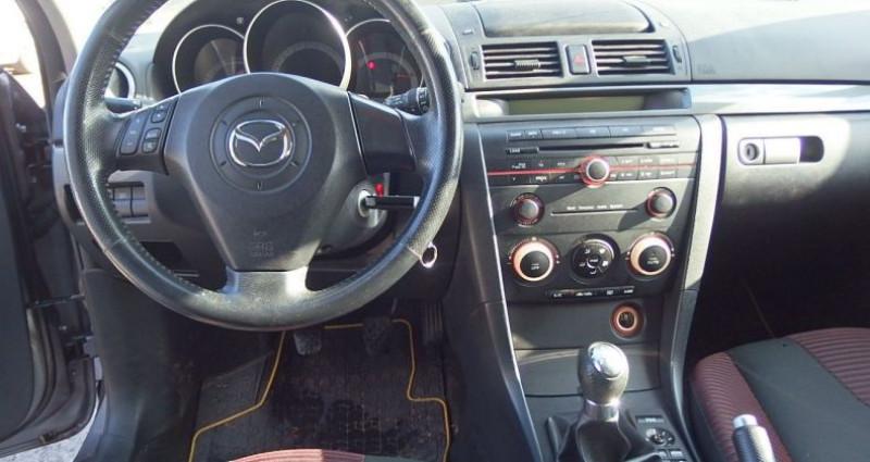 Mazda Mazda 3 1.6 MZ-CD110 ELEGANCE 5P Gris occasion à FONTAINE LES GRES - photo n°5
