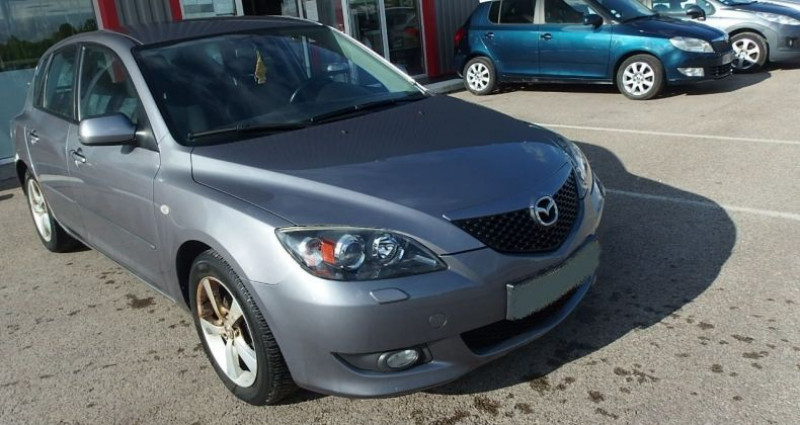 Mazda Mazda 3 1.6 MZ-CD110 ELEGANCE 5P Gris occasion à FONTAINE LES GRES