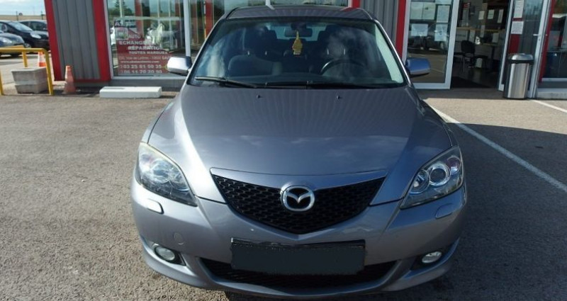 Mazda Mazda 3 1.6 MZ-CD110 ELEGANCE 5P Gris occasion à FONTAINE LES GRES - photo n°2