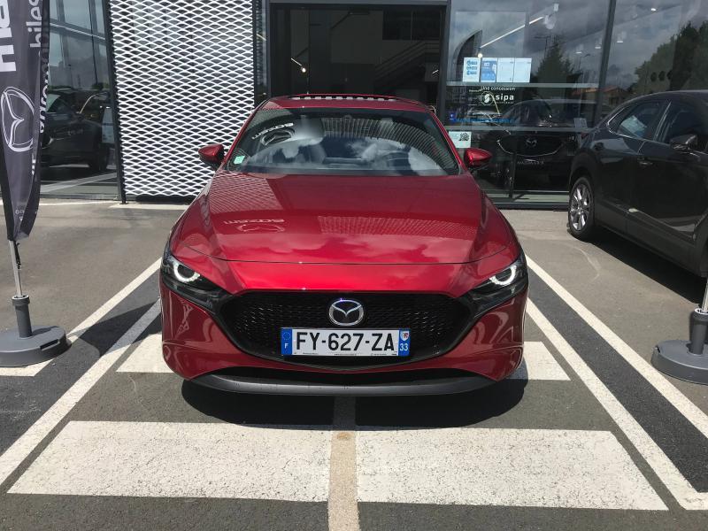 Mazda Mazda 3 2.0 e-Skyactiv-X M-Hybrid 186ch Exclusive BVA  occasion à Mérignac - photo n°2