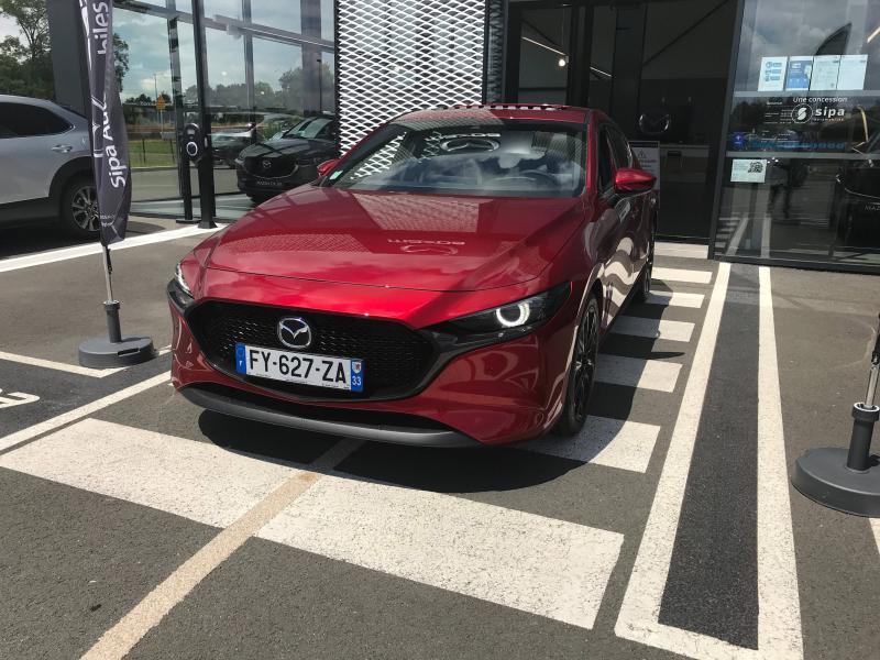 Mazda Mazda 3 2.0 e-Skyactiv-X M-Hybrid 186ch Exclusive BVA  occasion à Mérignac