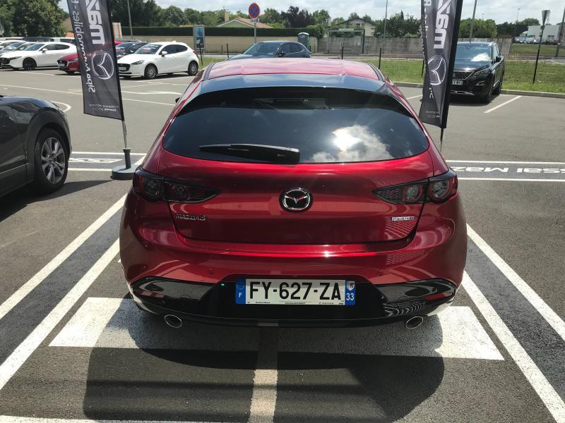 Mazda Mazda 3 2.0 e-Skyactiv-X M-Hybrid 186ch Exclusive BVA  occasion à Mérignac - photo n°4