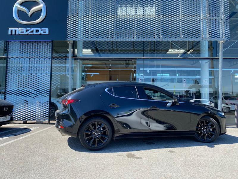 Mazda Mazda 3 2.0 e-Skyactiv-X M-Hybrid 186ch Exclusive BVA Noir occasion à Saint-Herblain - photo n°2