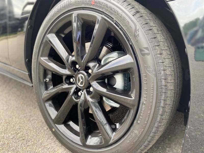 Mazda Mazda 3 2.0 e-Skyactiv-X M-Hybrid 186ch Exclusive BVA Noir occasion à Saint-Herblain - photo n°8