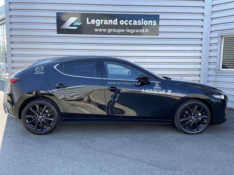 Mazda Mazda 3 2.0 e-Skyactiv-X M-Hybrid 186ch Sportline Noir occasion à Saint-Brieuc - photo n°5
