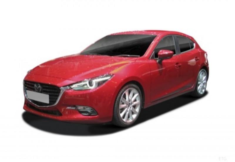 Mazda Mazda 3 2.0 SKYACTIV-G 120 Sélection BVA Noir occasion à LA QUEUE-EN-BRIE