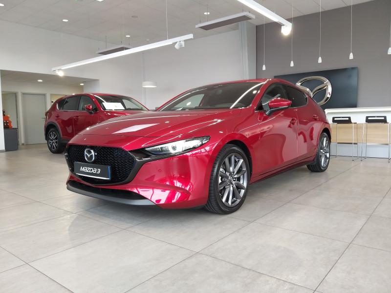 Mazda Mazda 3 2.0 Skyactiv-G M-Hybrid 122ch Sportline BVA Evap  occasion à 72231 ARNAGE CEDEX