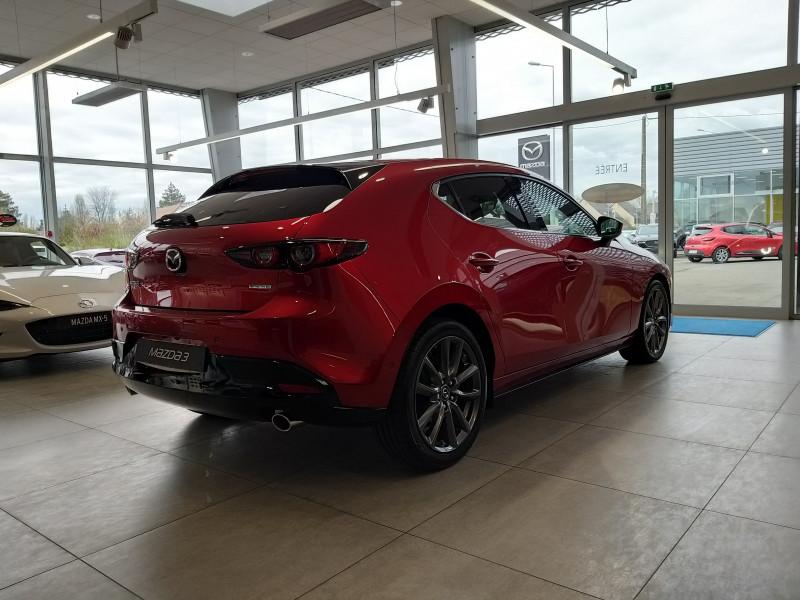 Mazda Mazda 3 2.0 Skyactiv-G M-Hybrid 122ch Sportline BVA Evap  occasion à 72231 ARNAGE CEDEX - photo n°2