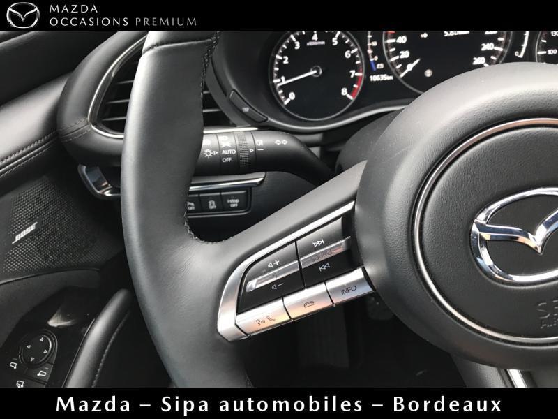 Mazda Mazda 3 2.0 Skyactiv-G M-Hybrid 122ch Sportline Evap Blanc occasion à Mérignac - photo n°13