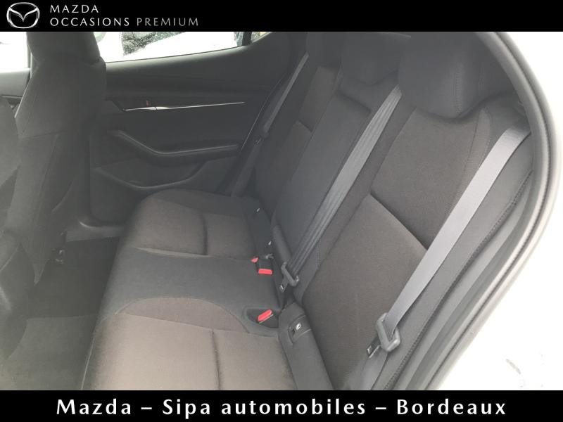 Mazda Mazda 3 2.0 Skyactiv-G M-Hybrid 122ch Sportline Evap Blanc occasion à Mérignac - photo n°9