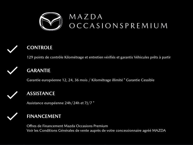 Mazda Mazda 3 2.0 Skyactiv-G M-Hybrid 122ch Sportline Evap Blanc occasion à Mérignac - photo n°20