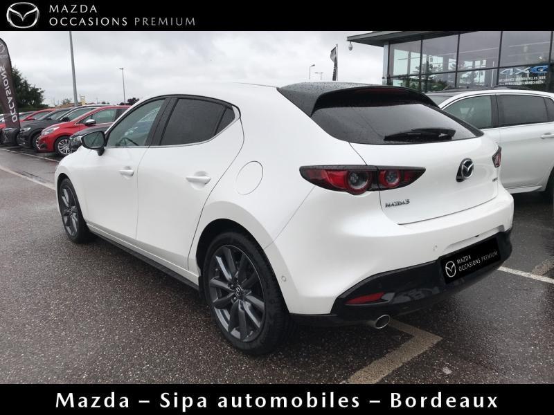 Mazda Mazda 3 2.0 Skyactiv-G M-Hybrid 122ch Sportline Evap Blanc occasion à Mérignac - photo n°6