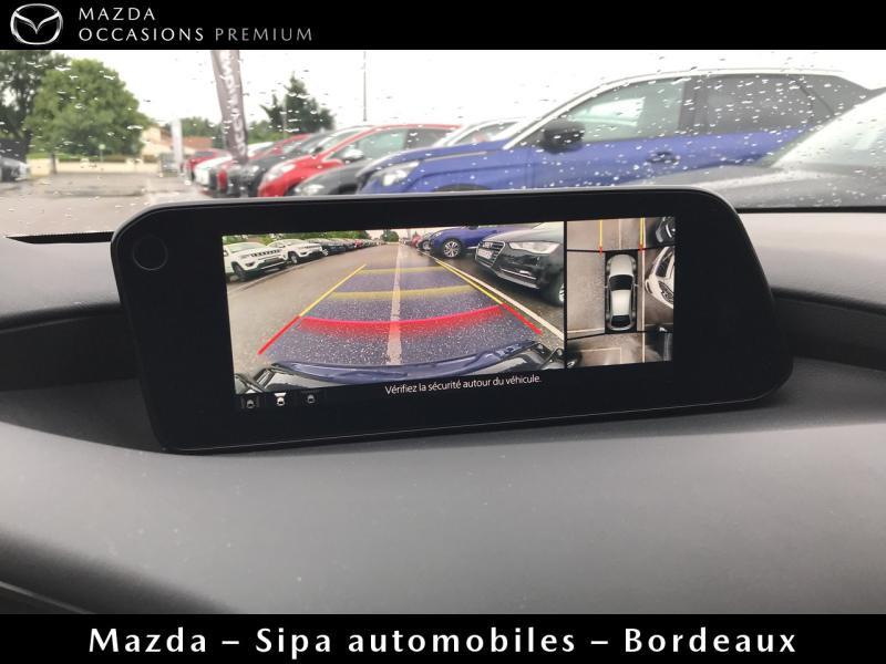 Mazda Mazda 3 2.0 Skyactiv-G M-Hybrid 122ch Sportline Evap Blanc occasion à Mérignac - photo n°14